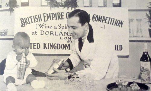 Tarling_1_William J. Tarling con suo figlio durante una competizione